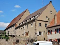 Ancienne chartreuse - Vue arrière des bâtiments de l'ancienne chartreuse de Molsheim. Bas-Rhin