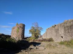 Ruines du château du Frankenbourg -  eras almost forgotten