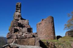 Ruines du château du Frankenbourg -  Frankenbourg