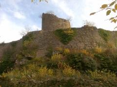 Ruines du château du Frankenbourg - Deutsch: Die Ruine der Frankenburg im Elsass