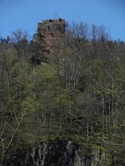 Ruines du château du Nideck -  château du Nideck