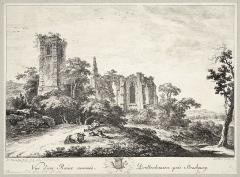 Ancien couvent des chanoines réguliers de saint Augustin - Français:   Vue de l\'Abbaye en ruine de Truttenhausen