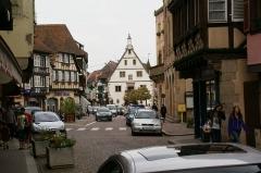 Halle aux blés (anciennes boucheries) - English: Rue du Général Gouraud in Obernai, France