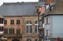 Hôtel de ville - English: Rue due Chanoine Gyss in Obernai, France