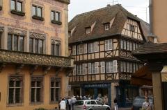 Maison - English: Hotel de Ville et maison de tanneur Steger (XVIIe), 61 rue du Général Gouraud in Obernai, France