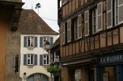 Maison - English: Rue du Général Gouraud in Obernai, Ruelle des Juifs, France