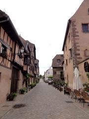 Maison -  Alsace, Bas-Rhin, Obernai, Rue des Pèlerins, Maison seigneuriale de Rathsamhausen, puis maison dîmière de Morimont, puis maison de Gail (XIIIe-XVIe), n°8