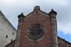 Ancienne synagogue - Vue de Obernai, dans le département du Bas-Rhin (France).