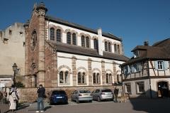 Ancienne synagogue - Deutsch: Synagoge (Obernai) in Obernai im Département Bas-Rhin in der Region Grand Est (Frankreich), Ansicht von Süden