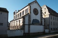 Ancienne synagogue - Deutsch: Synagoge (Obernai) in Obernai im Département Bas-Rhin in der Region Grand Est (Frankreich), Ansicht von Südosten