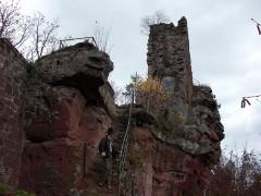 Ruines du château de Lutzelhandt -  Luetzelhardt Castle