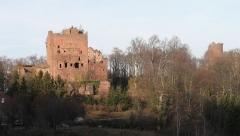 Ruines du château de Rathsamhausen - Français:   Châteaux d\'Ottrott: Rathsamhausen & Lutzelbourg