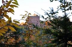 Ruines du château de Rathsamhausen - Français:   Le Château en automne