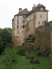Ruines du château et restes des enceintes fortifiées -  Parc naturel régional des Vosges du Nord