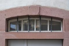Synagogue - Deutsch: Synagoge in Pfaffenhoffen im Département Bas-Rhin (Region Alsace-Champagne-Ardenne-Lorraine/Frankreich), Eingang