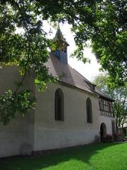 Chapelle Sainte-Marie-du-Chêne ou Notre-Dame-du-Chêne -  Chapelle Notre-Dame-du-Chêne à Plobsheim XIVe siècle. Vue extérieure