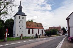 Eglise protestante - Deutsch: Evangelische Kirche St. Michael, Roppenheim