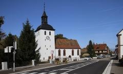 Eglise protestante - Deutsch: Protestantische Kirche in Roppenheim.