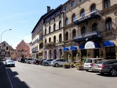 Hôtel du Boeuf Noir -  Alsace, Bas-Rhin, Saverne, Rue de la Gare.