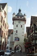Tour dite Tour Neuve ou Tour de l'Horloge - English: La tour de l'horloge