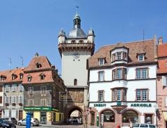 Tour dite Tour Neuve ou Tour de l'Horloge -  Sélestat, Bas-Rhin (Alsace, France), Tour de l'horloge.