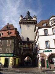 Tour dite Tour Neuve ou Tour de l'Horloge - Deutsch: Tour de l'horloge in Sélestat
