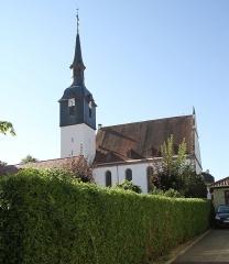 Eglise protestante - Deutsch: Protestantische Kirche in Soultz-sous-Forets.