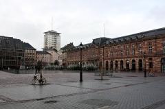 Bâtiment de l'Aubette - German civil engineer and photographer