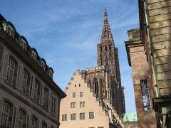 Cathédrale Notre-Dame - Alsace, Bas-Rhin, Cathédrale Notre-Dame de Strasbourg (PA00085015).