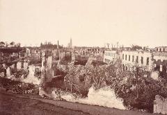 Citadelle et abords - Vue centrale de la citadelle de Strasbourg en 1874.