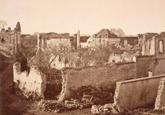 Citadelle et abords - La porte de secours de la citadelle de Strasbourg en 1874.