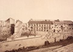 Citadelle et abords - La prison de la citadelle de Strasbourg en 1874.
