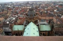 Lycée Fustel de Coulanges, ancien Collège des Jésuites -  This image was taken at Strasbourg Cathedral, Strasbourg.