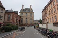 Lycée Fustel de Coulanges, ancien Collège des Jésuites -  Strasbourg
