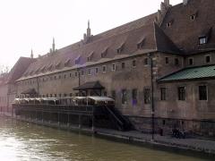 Ancienne douane -  L'Ancienne Douane de Strasbourg, côté Ill