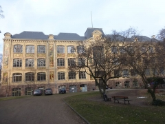Ecole municipale des Arts décoratifs - English: The Strasbourg municipal art school in January 2017
