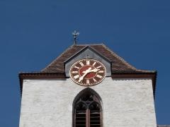 Eglise protestante Sainte-Aurélie - Français:   Eglise Sainte-Aurélie de Strasbourg. Horloge de Jean-Baptiste Schwilgué.