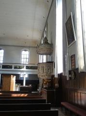 Eglise protestante Sainte-Aurélie - Français:   Chaire de l\'église Sainte-Aurélie de Strasbourg
