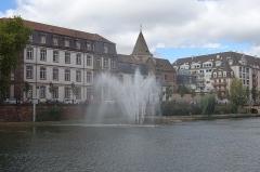 Eglise Saint-Etienne -  Jet d'Eau @ Strasbourg