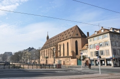 Eglise catholique Saint-Jean-Baptiste -  Église Saint-Jean de Strasbourg, Alsace, France.