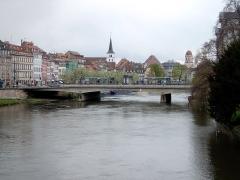 Eglise Sainte-Madeleine - Deutsch: An der Ill in Straßburg.
