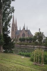 Eglise réformée Saint-Paul - Español: Vista lateral de la Iglesa de San Pablo de Estrasburgo