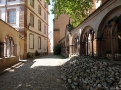 Eglise Saint-Thomas - Alsace, Bas-Rhin, Église protestante Saint-Thomas de Strasbourg, 4 rue Martin-Luther  (PA00085032). Vestiges gothiques d'un ancien cloître