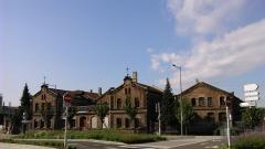 Gare ferroviaire centrale - Français:   La gare basse de Strasbourg.