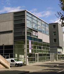 Gare ferroviaire centrale - Français:   Poste d\'aiguillage informatisé de Strasbourg.