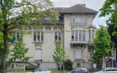 Ancien hôtel Schützenberger -  Encore une superbe demeure de style Art Nouveau (et une inspiration des maisons de Toscane). Cette villa fut commandé par un propriétaire d'une grande brasserie de la région.