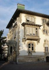 Ancien hôtel Schützenberger -  villa Schutzenberger (côté cour) / Observatoire européen de l'audiovisuel