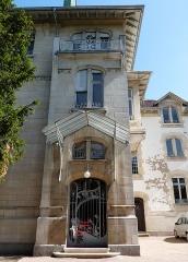 Ancien hôtel Schützenberger - English: Entrance to European Audiovisual Observatory (Strasbourg)