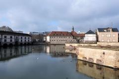 Grande écluse de fortification dite barrage Vauban et ses abords fortifiés - German civil engineer and photographer