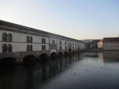 Grande écluse de fortification dite barrage Vauban et ses abords fortifiés - Barrage Vauban à Strasbourg.